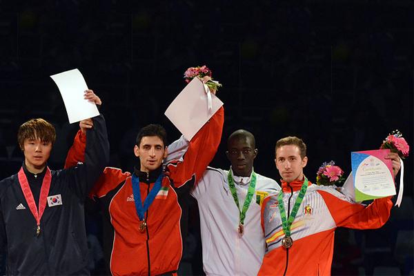 بهنام اسبقی، مرد طلایی مسابقات جهانی تکواندو