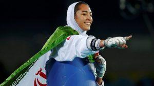 کیمیا علیزاده برای ورزش زنان ایران افتخار آفرید