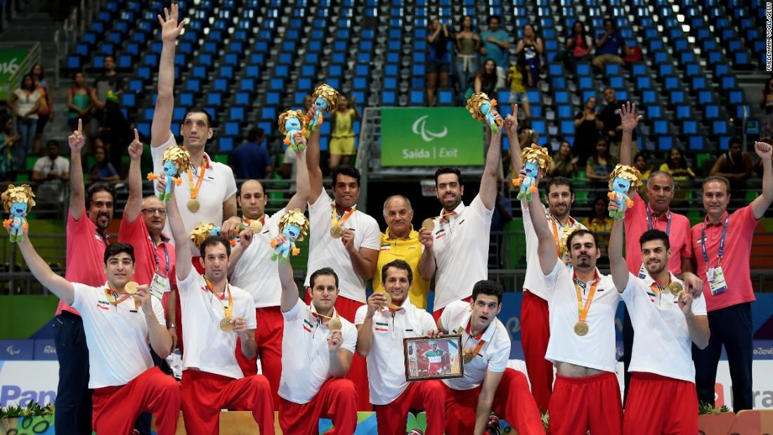 افتخارآفرینی ورزشکاران ایران در پارالمپیک ریو ۲۰۱۶