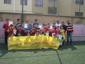کسب مقام دوم توسط تیم فوتبال نوجوانان